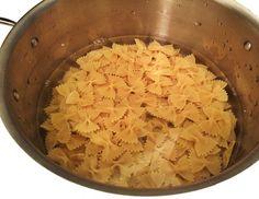 Cold Water Method Pasta