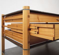 A drawer furniture was the task in the interdisciplinary project work at the master school for carpe Modular Furniture, Wood Furniture, Furniture Design, Plywood Design, Sailboat Interior, Woodworking Inspiration, Diy Drawers, Wood Joinery, Terrace Design