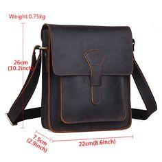 Мужская RUSTIC из натуральной кожи Messenger маленький наплечная сумка крест тела сумка Новая