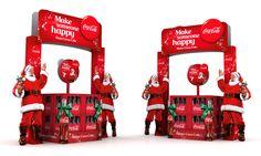 Coke pallet display