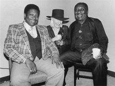 Three great Bluesman - BB King now gone