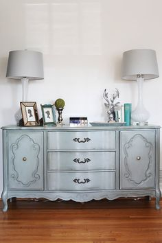 SOLD EXAMPLE of Redesigned Buffet SOLD by AbbeyLaneRedesign, $575.00