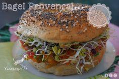 "Bio bagel provençal ""made in poitou"""
