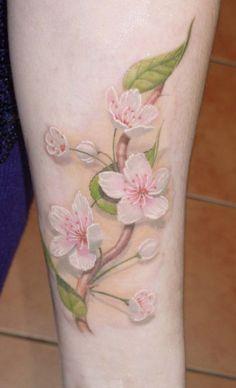 Тату Татуировка цветка на руке