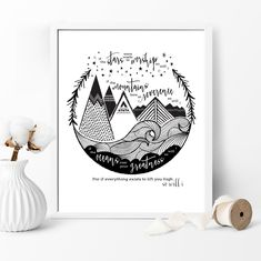 If the stars were made to worship so will i. If the mountains bow in reverence so will i. If the oceans roar your greatness so will i. For if everything exists to lift you high so will i. Hillsong lyric art print, Fancy That Design House & Co fancythatdesignhouse.com