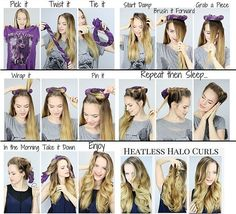 How To Curl Hair Fast