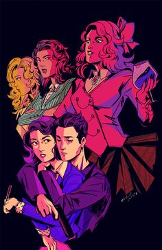 what's your damage? - heathers: the musical fan art