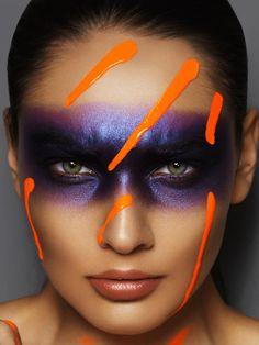 geyes design | Retouching Portfolios | Beauty Mask Makeup