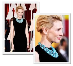 Oscar 2015: Cate Blanchett com colar Tiffany & Co (Foto: Getty Images)