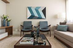 Decoração de Interiores Apartamento Brooklin - Decoradora de Interiores Marilia Veiga
