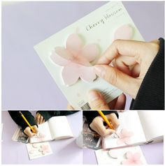 The Cherry Blossom Sticky Note is a very well made and beautiful sticky note