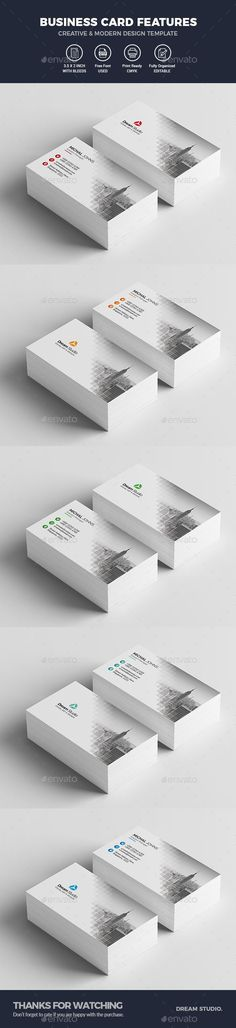 #Business #Cards - Business Cards Print Templates Download here: https://graphicriver.net/item/business-cards/20333222?ref=alena994
