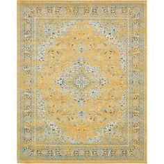 This Turkish Tradition rug is made of polypropylene. This rug is easy-to-clean, stain resistant, and does not shed.
