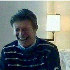 SAD FUN FACT: This is one of the last pictures ever taken of Davey Jones. My happy little bean. I love him so much. To the ends of the earth forever and ever #DavidBowie