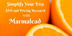 Simplify Your Etsy SEO and Pricing Research With Marmalead- I recently discovered a brand new website that's going to greatly simplify Etsy SEO and pricing research. I know it is going to be a huge time-saver for Etsy sellers, so I am excited to tell you more about the site.