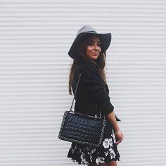 eyyy  @topshop hat #brandyeu dress @zara bag
