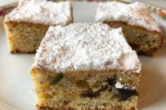 Marzipan, Tasty Bakery, Ground Turkey Recipes, Pie, Vegetarian, Desserts, Food, Advent, Quick Cake
