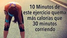 10 Minutos de este ejercicio quema más calorías que 30 minutos corriendo #salud