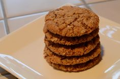 Oatmeal cookies made with raisins pureed into batter.