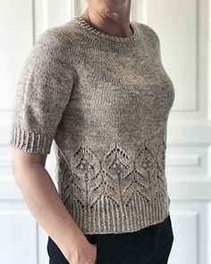 Ravelry: Magnolia pattern by Camilla Vad Plus Size Christmas Sweaters, Online Yarn Store, Summer Sweaters, Summer Knitting, Yarn Shop, Sweater Knitting Patterns, Cardigans For Women, Ravelry, Knitted Hats