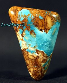 Nevada Boulder Turquoise By Terry Williams, LostSierra