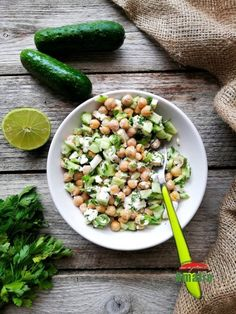 Feta, Tofu, Pickles, Cantaloupe, Cucumber, Avocado, Salads, Lawyer, Pickle
