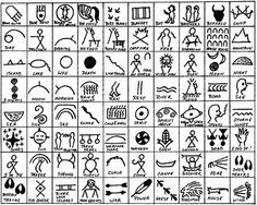 FREEBIE! Native American Symbols to print out to use as a guide or for the children and use for writing stories and can also be used by students to decorate all of their items.