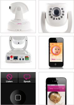 Amazing baby monitor, yes please!
