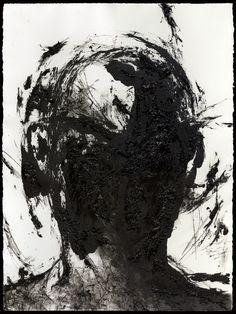 "Joon Hee Lee; Monotype, 2011, Printmaking ""Lost Portrait"""