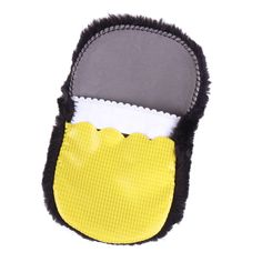 High Quality Soft Imitation Wool Shoes Care Tool Shoe Cleaning Polishing Brush Cloth Gloves #33521