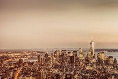 New York City - Financial District Skyline - Dusk