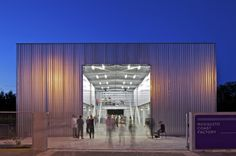 First entry in for #Metal in Architecture Award #WAN AWARDS The Mosquito Coast Factory by Tolila+Gilliland © Philippe Ruault