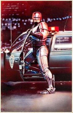 RoboCop - Part Man. Part Machine. All Cop! An awesome movie poster from the classic sci-fi action film. Need Poster Mounts. Film D'action, Bon Film, Film Serie, Sci Fi Movies, Action Movies, Good Movies, Movie Tv, Action Film, Film Science Fiction