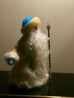 Nadel gefilzt Santa Claus Waldorf stehend Puppe von DreamsLab3