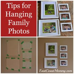 East Coast Mommy: Quick Tip Tuesday #22 - Easy Family Picture Arrangements