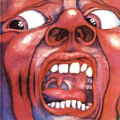 "Album Cover: ""In the Court of the Crimson King, an Observation by King Crimson"" (1969)"