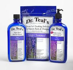 One of my favorite inexpensive bath products.  Dr. Teal's Foaming Bath in Soothing Lavender.