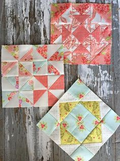 {Sisters and Quilters}: Moda Sampler Block Shuffle Blocks 7-9