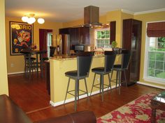 Color For Kitchen Walls kitchen cabinet wood choices | dark wood cabinets, dark wood and