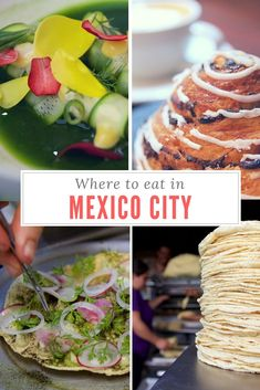 The capital city of Mexico is teeming with great food, from cheap street food to higher end restaurants. Here are my picks on where to eat in Mexico City. Cooking Classes Nyc, Mexico Travel, Mexico City, Mexico Trips, Foodie Travel, Places To Eat, Mexican Food Recipes, Food And Drink, Travel Advice