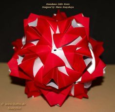 Kusudama Little Rose