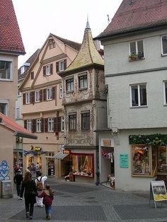 Tubingen, Germany. You'd better take a whole bunch of pictures for me ;)