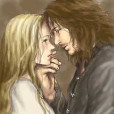 There is a serious shortage of Eowyn and Faramir fan art in this world.  I love this!  <3