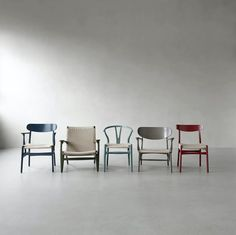 Hans J. Wegner stole Magazine Design, 1950s Design, Palette, Iconic Dresses, Nordic Design, Soft Furnishings, Chair Design, Icon Design, Dining Chairs