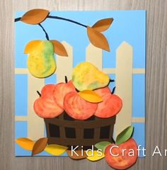 Most current Screen Fall crafts for kids apple basket in the garden Style Paper fall crafts for kids apple basket in the garden Fall Crafts For Toddlers, Easy Fall Crafts, Thanksgiving Activities For Kids, Thanksgiving Crafts, Toddler Crafts, Pinecone Crafts Kids, Leaf Crafts, Craft Stick Crafts, Paper Crafts