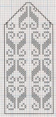 Arquivo dos álbuns Filet Crochet Charts, Knitting Charts, Knitting Stitches, Knitting Patterns, Knitted Mittens Pattern, Knitting Socks, Crochet Flower Patterns, Bead Loom Patterns, Crafts