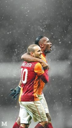 Drogba & Sneijder