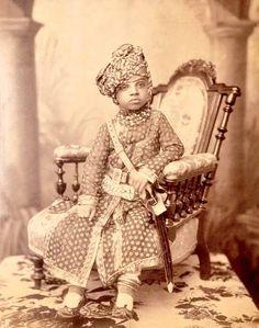 Sardar Singh, the prince of Jodhpur, 1885