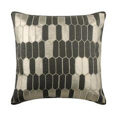 Linen look Pillow Cover Textured Pillow Cover Geometric Pillow Cover 16x16 Lattice Print Pillow Cover Rust Pillow Cover Metallic sham