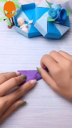 Clever Paper Craft Hacks - How to Create Original Ideas - Paper Flowers Craft, Paper Crafts Origami, Paper Crafts For Kids, Origami Paper, Diy Paper, Origami Flowers, Origami Candy, Origami Ring, Diy Crafts Hacks